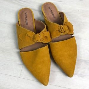 Jeffrey Campbell Mustard Charlie Point Toe Mules
